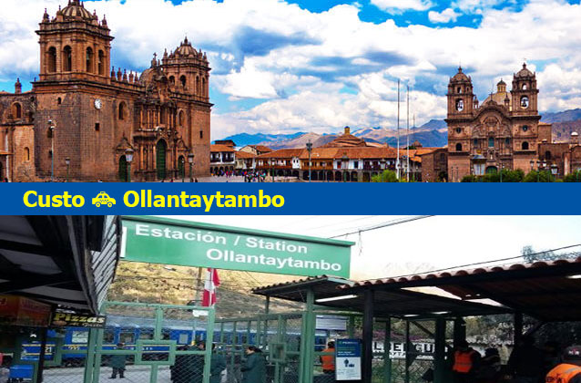 Cusco naar Ollantaytambo Transport