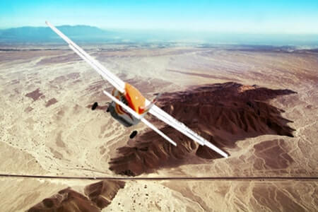 Survolez les lignes Nazca + Palpa depuis l'aéroport d'Ica