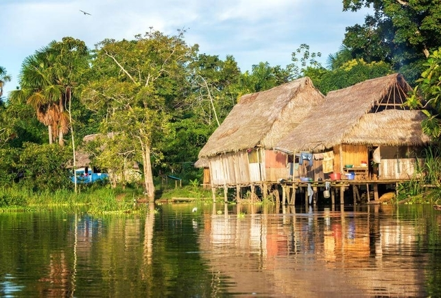 4D3N Amazon Rain Forest Tour with canopy walk, Luxury tours from Iquitos Airport