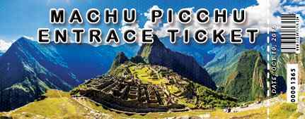 Billets Machu Picchu: disponibilité officielle