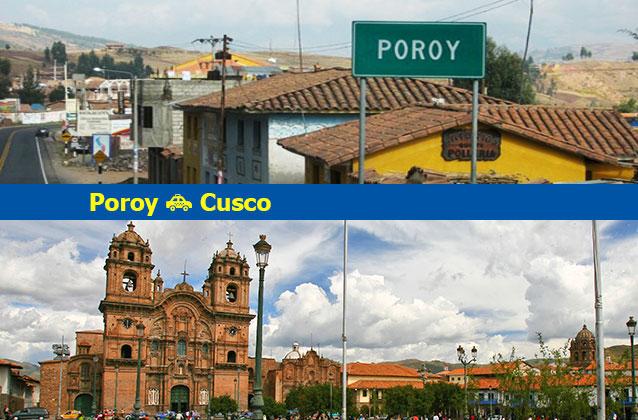 Poroy nach Cusco